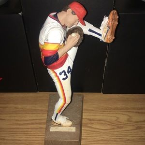 "McFarlane Nolan Ryan Houston Astros 12"" RARE"